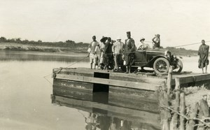 Africa Senegal Car Ferry of Ouro Madiou Automobile Old photo 1926