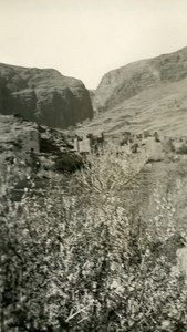Morocco Canyon of Todra Old Amateur Photo 1939