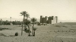 Morocco Valley of Dades near Ouarzazate Old Amateur Photo 1939