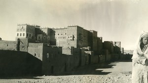 Morocco Kasbah of Ouarzazate Old Amateur Photo 1939