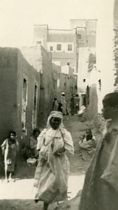 Morocco Kasbah of Ouarzazate Old Amateur Photo 1939