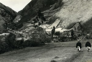 Peru Micias Child of Andes Old Photo Beauvais 1965