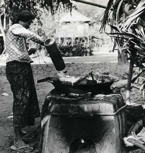 Cambodia Sinoun the Little Cambodgian Cooking Old Photo Odile Wertheimer 1970