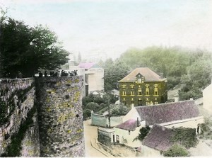 France Montreuil sur Mer Old Hand Colored RPPC Victor Vajda Photo 1930