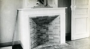 France Roubaix Modern Fireplace Old Victor Vajda Photo 1930