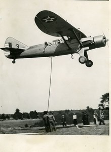 USA Aviation Military Airplane US Army Messenger Old Press Photo 1939