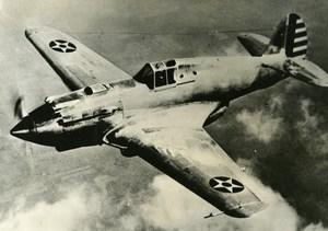 USA Military Aviation Aircraft Curtiss P 40 Old Press Photo 1940