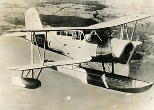 USA Military Aviation US Navy Aircraft Curtiss SOC Seagull Old Press Photo 1935