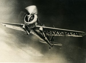 USA Military Aviation Fighter Curtiss-Wright CW-21 Demon Old Press Photo 1939