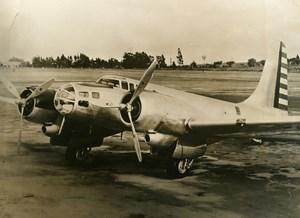 USA Santa Monica Military Aviation US Army Bomber Old Press Photo 1939