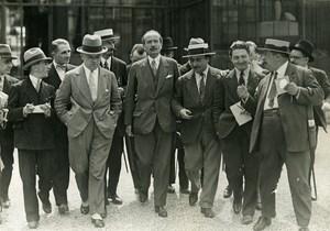 France Paris Political Ministerial Crisis News Reporters Old Meurisse Photo 1933