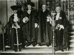 London Lord Mayor Ceremony Sir William Waterlow William Neal Meurisse Photo 1930