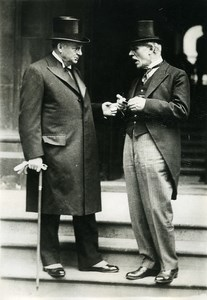 London Imperial Conference RB Bennett Ramsay MacDonald Old Meurisse Photo 1930