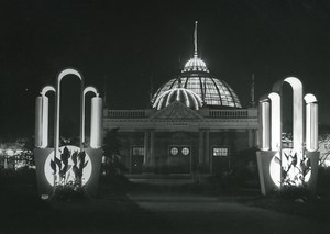 Canada Toronto Canadian National Exhibition at Night Horticultural Photo 1950