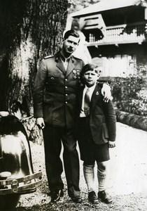 Romania King Carol II Birthday Prince Michael Mihai Old Photo 1930