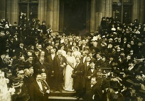 France Paris Mid Lent Parade Animated the Queen of Queens Old Photo Rol 1912