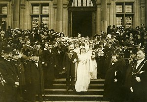 France Paris Mid Lent Parade Animated the Queen of Roses Old Photo Rol 1912