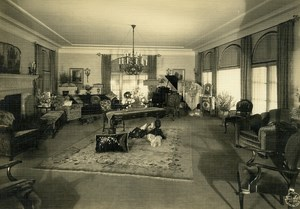 USA California Pomona Wealthy House Interior David Crookshank Photo Frasher 1925