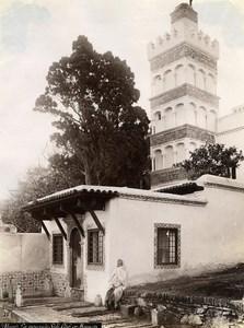 Algeria Algiers Mosquee Sidi Abderhaman Old Photo 1890