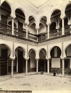 Algeria Algiers Archbishopric Interior Old Photo 1890