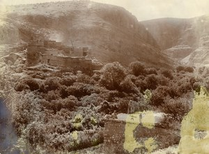 Algeria Sahara Mountain Ruins Old Photo 1890