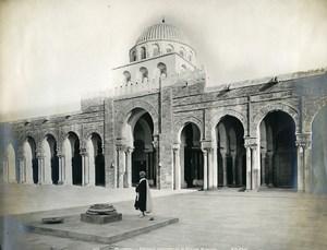 Tunisia Kairouan Great Mosque Old Photo Neurdein 1900