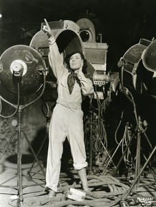 Maureen O'Sullivan helps Electricians MGM Photo 1932