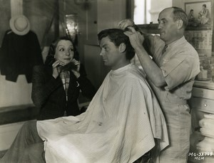 Johnny Weissmuller haircut with Lupe Velez MGM Photo 1932