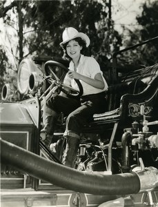 Jean Parker as a very charming firefighter MGM Photo 1932