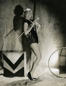 Una Merkel disguised as a circus acrobat MGM Photo 1932