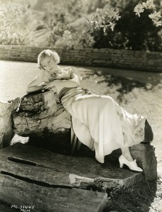 Una Merkel charming blonde actress MGM Photo 1932