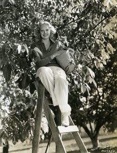 June Knight dancer and walnut farmer MGM Photo 1932