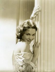 Charming young actress Maureen O'Sullivan MGM Photo 1932