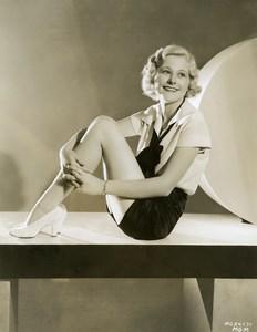 Dorothy Layton charming actress MGM Photo 1932