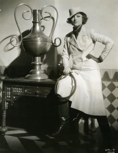 Myrna Loy dressed this set in his new movie MGM Photo 1932