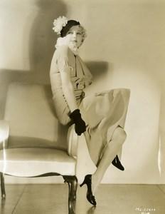 Thelma Todd charming actress of studios MGM Photo 1932