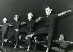 France Opera Dance Damnation of Faust Weird Freaky Masks Photo Roger PIC 1960