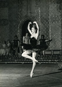 France Aix les Bains Dance Violetta Bout Swan Lake Old Photo PIC 1956