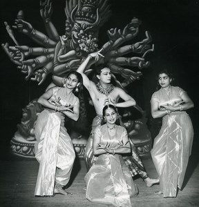 France Dance Ballet Indian Ram Gopal Old Photo Bernand 1960
