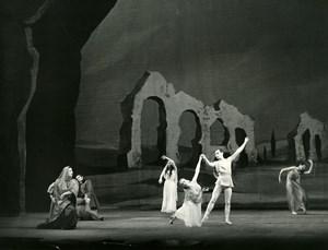 France Paris Opera Dance Ballet Old Photo Bernand 1960