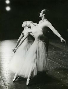 France Ballet of Great Theater Geneva Serenade Balanchine Old Photo Humbert 1960
