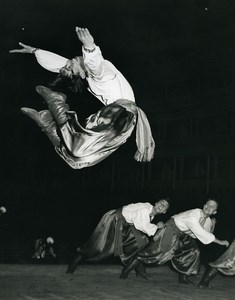 United Kingdom Folk Russian Ballet ? Old Photo 1960