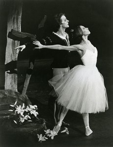 USA Makarova & Baryshnikov in Gisela Old Photo Martha Swope 1975