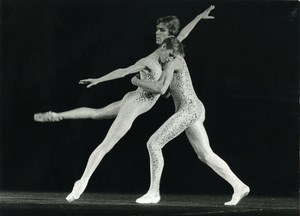 France American Ballet Theatre Dance Old Photo Vappereau 1975