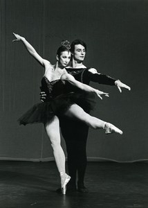 France Maina Gielgud & Jonathan Kelly Dance Old Photo Farkas 1970