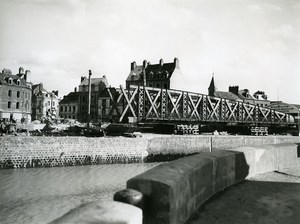 France Dieppe Rehabilitation Work Old Photo 1947