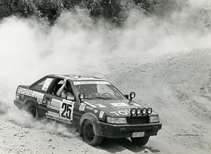 Africa Zaire Rally Safari Race Eddy Merckx Braillard Toyota Corolla Photo 1985