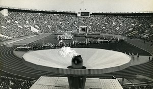 Russia Moscow Luzhniki Stadium Summer Universiade Ceremony Old Photo 1973
