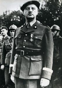 United Kingdom Military General Wladyslaw Sikorski WWII Old Photo 1940