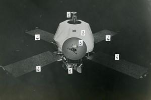 USA NASA Space Exploration Jet Propulsion Lab Old Photo 1970